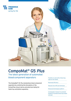 CompoMat G5: Automated Blood Components Separator